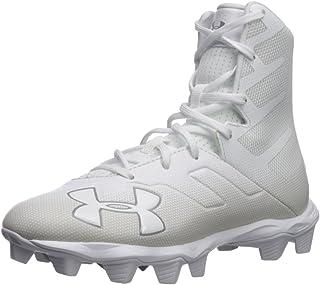 Under Armour Boys' Highlight RM Jr. Football Shoe (100)/White, 6
