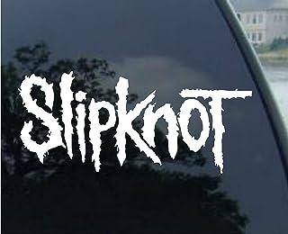 Yilooom Slipknot S 2 Pack   Die Cut Vinyl Car Decal Sticker Bumper Window Sticker 2 Pack 12 Inches at Longest End