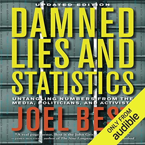 Damned Lies and Statistics audiobook cover art