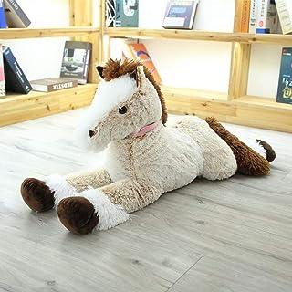 90-120 cm Creatieve leuke Paard Speelgoed big size Knuffeldier Pop Baby Kids Verjaardagscadeau Home Shop Decor Triver Hoge...