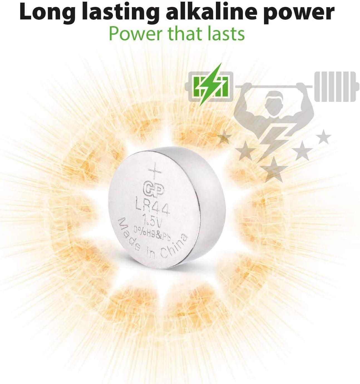 A76 LR44 AG13 Batteries by GP Batteries 40 Pack