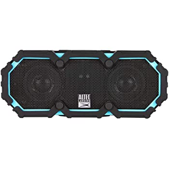 Altec Lansing Life Jacket 2 - Bluetooth Speaker, Wireless, Waterproof, Floatable, Portable, Loud Volume, Strong Bass, Rich Stereo System, USB Charger, Microphone, and 30 ft Wireless Range, IP67, Black