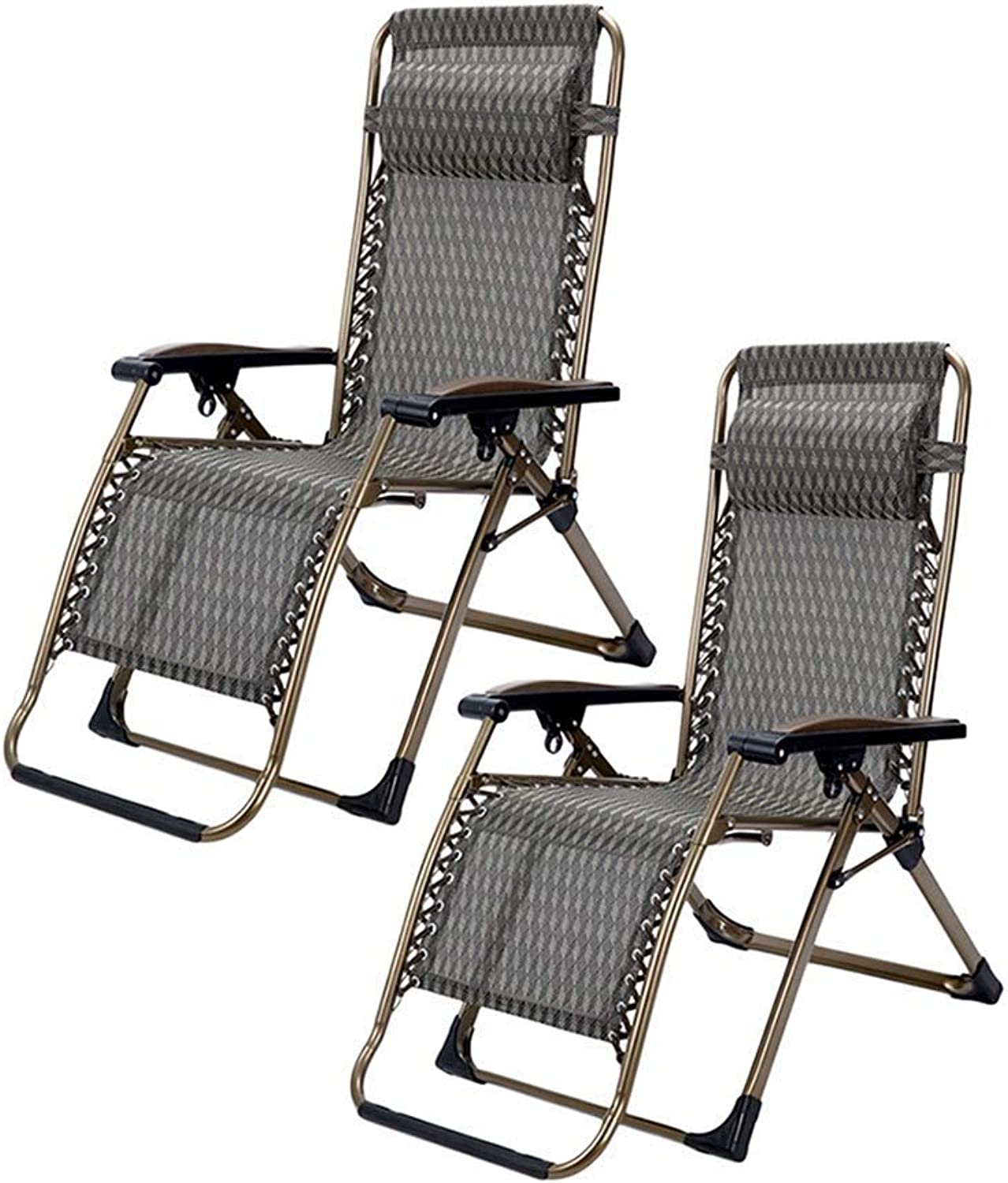Set of 2 Oversized Patio Reclining Zero Gravity Chair for Heavy Duty People, Outdoor Garden Yard Beach Lawn Camping Pool Side Deck Portable Chair, Support 300kg,B