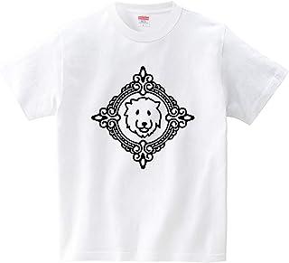 ゴージャスライオン(Tシャツ?ホワイト) (犬田猫三郎)