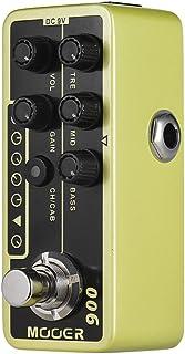 Muslady MOOER MICRO PREAMP Series 006 US Combo Classic Deluxe American Blues Preamplificador Digital Pedal de Efecto de Guitarra True Bypass