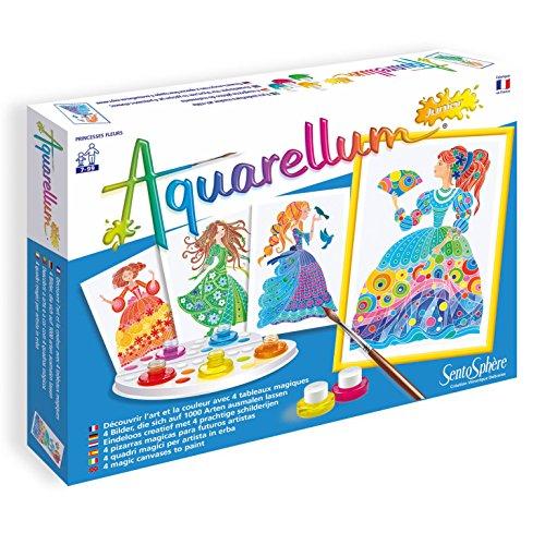 Sentosphere - Aquarellum Junior princesas de la flores, jueg