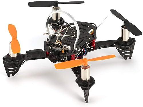 Ballylelly-RC Drohne mit CameraRadiolink F110S Micro Racing Drohne Quadcopter mit R8FM Empfänger Kohlefaser 200mW 40CH FPV Kamera High Speed BNF
