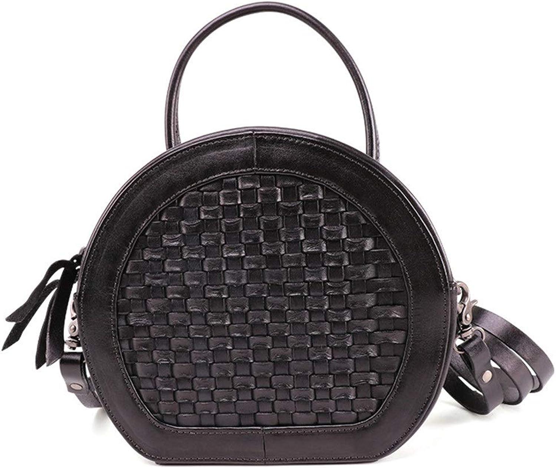 Sturdy New Women's Shoulder Handbag Messenger Handbag Tote Travel Wallet Leather Removable Adjustable Shoulder Strap Large Capacity (color   Black)