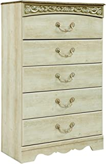 white french style chest of drawers