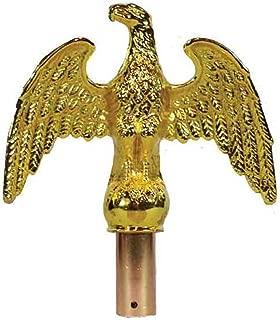 american eagle flag pole top