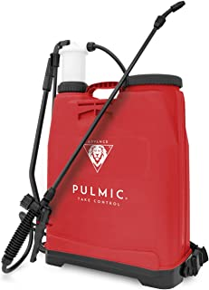 Pulmic Raptor 16 Advance-Pulverizador hidráulico Manual para aplicación de Productos agroquímicos, Rojo