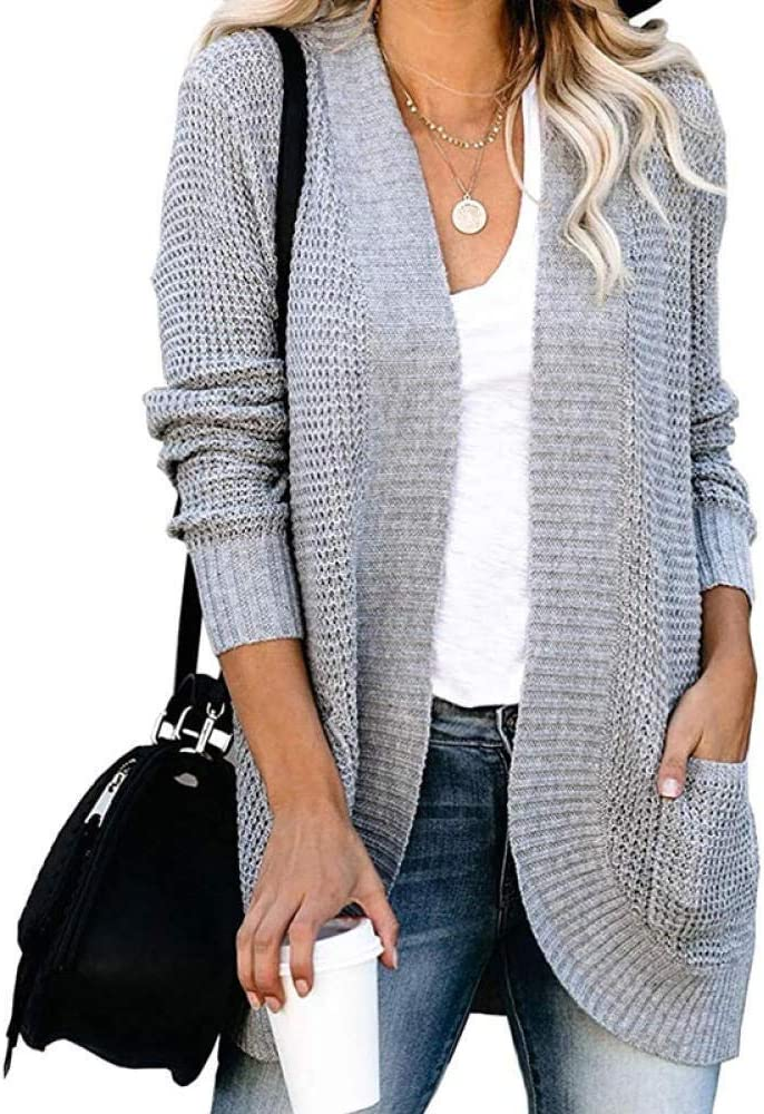 Lztly Sweater Women's Weekly update Coat Max 86% OFF Long Sleeve