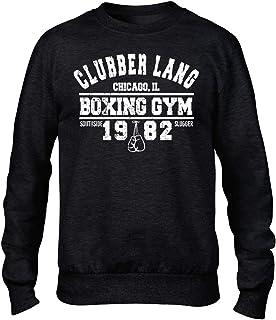 Clubber Lang Boxing Gym Premium Men's Black Crew Sweatshirt Film Rocky Balboa
