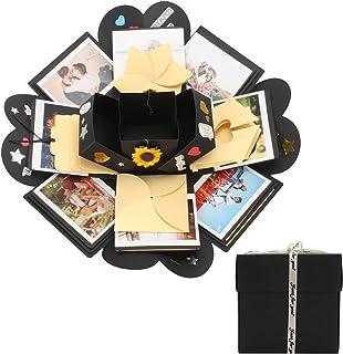 Creative Explosion Anniversary Photo Gift - DIY Scrapbooking Kit for Birthday, Surprise Proposal, Unique Memory Album - Gr...
