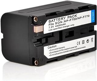 Andoer 4400mAh 7.2V Rechargeable Li-ion Battery Camera Camcorder Battery for Sony NP-F750 NP-F970 F960 F950 F930 F770 F570