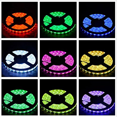 LEDMOMO Tira LED De Luz RGB 20 Metros SMD 5050 1200 LED...
