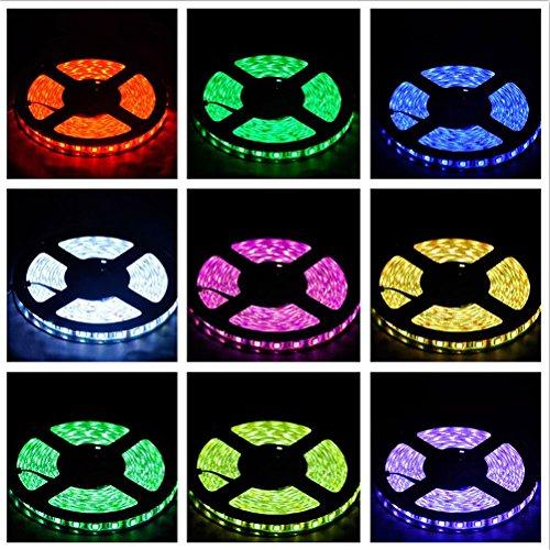 LEDMOMO 20 Meter SMD 2835 1200 LED RGB LED Streifen Kit IP65 Waterpoof Diode Tape Lichter mit 2.4G RF Fernbedienung RGB Controller Verstärker Wifi APP Control DC12V Netzteil