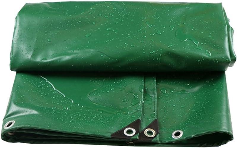 Baches Le camion multifonctionnel de bache imperméable antipoussière vert a jeté couvertures de bache de tissu de tissu - 100% imperméable et UV résistant Couverture de piscine (taille   4MX5M)