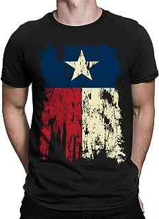 SpiritForged Apparel Vintage Distressed Texas Flag Men's T-Shirt