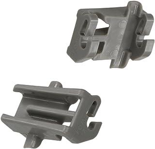 2x Pince de fixation pour palier Lave-vaisselle à panier supérieur Bosch Siemens Constructa Gaggenau Neff 611474 00611474
