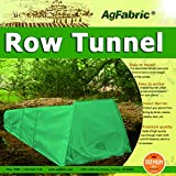 "Tunnel Plant Row Cover Dark Green Fleece Cover Guard Seed Germination & Frost Protection Cover,Plant Cover &Frost Blanket Season Extension, Medium 10ft Longx 23"" Widex15 High"