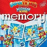 Ranvensburger, memory SuperThings, Juego de Mesa, Juego Memory, 72 tarjetas, Edad recomendada 4+, Memory Juego Niños