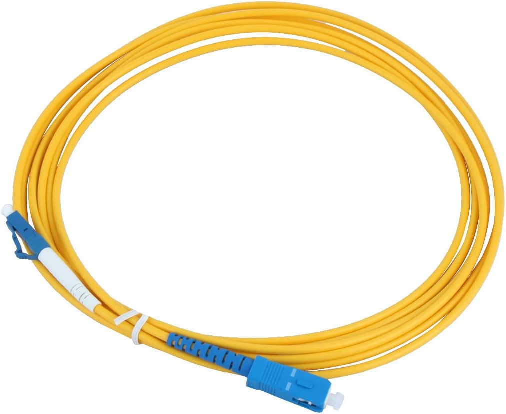 uxcell 2.9M Single Mode LC to Ca SC Fiber Nashville-Davidson Mall Cheap mail order specialty store Optic Connector Jumper