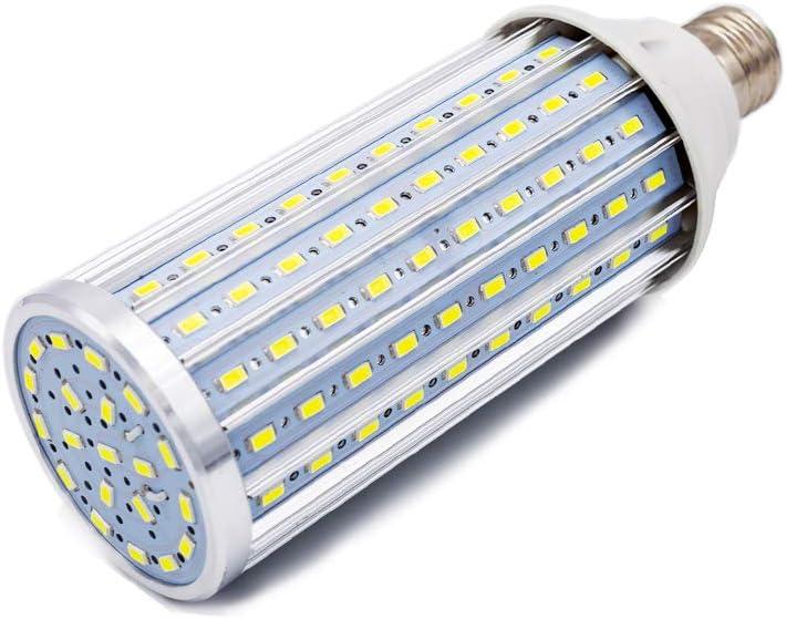 Bombilla LED E27, 60W LED maíz Bombilla 6500K Blanco Frío, 550W Equivalentes 5850lm 160x5630SMD No Regulable, Bombillas de maíz (60W Blanco frío)
