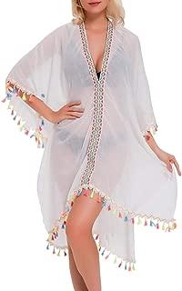 Summer Women Swimsuit Cover Up Bikini Swimwear Lace Knitted Long Maxi Beach Dress