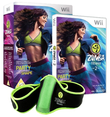Zumba fitness 2 : party yourself into shape + fitness belt [import anglais]