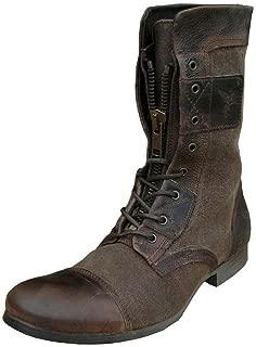 Henleys Men's Leather-and-Fabric Sakura Textile Boots