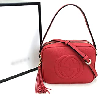 Exclusive Brand World Soho Double Disco Leather Women Bag
