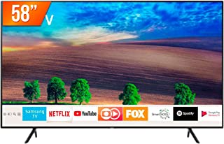 Smart TV LED 58'' Ultra HD 4K Samsung RU7100 3 HDMI 2 USB Wi-Fi