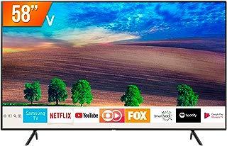 Smart TV LED 58'' Ultra HD 4K Samsung RU7100 3 HDMI 2 USB Wi-Fi