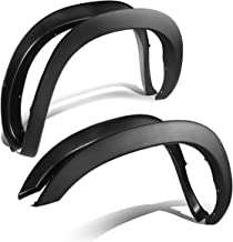 For Dodge Ram 3rd Gen Factory Style 4pcs Paintable ABS Smooth Wheel Fender Flares (Black)