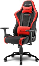 Sharkoon Skiller SGS2 Gaming Chair/ Seat, Durable upto 110 Kgs - Black/ Red