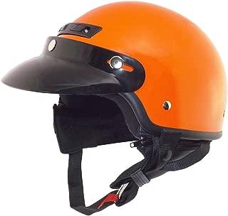 Core Helmets Hunter Safety Deluxe Half Helmet (Orange, Large)