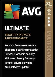 AVG Ultimate (10 Devices) (1-Year Subscription) - Android|Mac|Windows