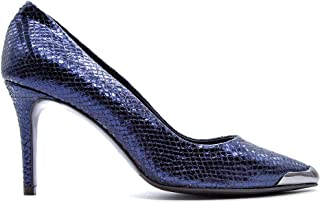 ALBANO Luxury Fashion Womens 1045PITBLU Blue Pumps | Fall Winter 19