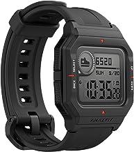 ساعت هوشمند Amazfit Neo Fitness Retro با ردیابی تمرین در زمان واقعی ، ضربان قلب و پایش خواب ، عمر باتری 28 روزه ، اعلان های هوشمند ، نمایشگر همیشه روشن 1.2 ، مقاوم در برابر آب ، سیاه