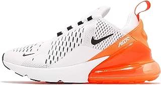 Nike W Air Max 270 Womens Ah6789-104 Size 6.5 White/Black-Total Orange