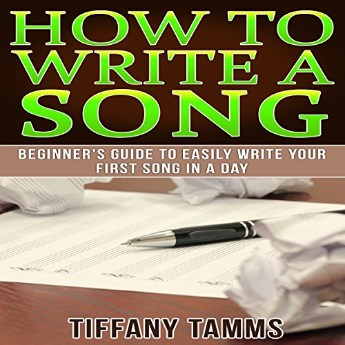 How to Write a Song audiobook cover art