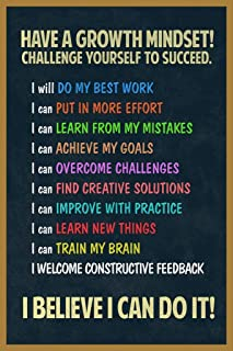 Best classroom growth mindset posters Reviews