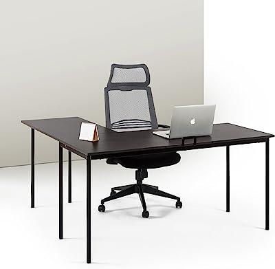 Amazon Com 71 Quot L Shaped Gaming Desk Large Desktop Wood