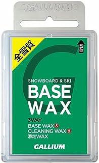 GALLIUM ガリウム スノーボード メンテナンス用品 チューンナップ ユニバーサルベースワックス BASE WAX 100 全雪質 SW2132