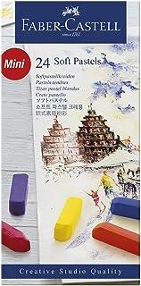 comprar comparacion Faber-Castell 128224 - Estuche de cartón con 24 tizas, mini, multicolor