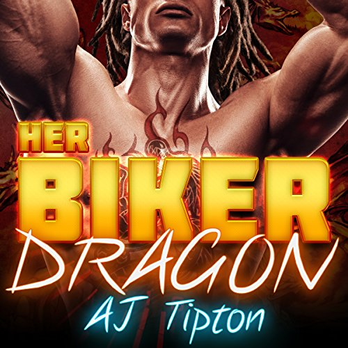 Her Biker Dragon audiobook cover art