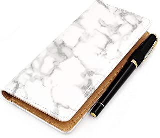 Checkbook Cover for Men & Women RFID Leather Check Book Holder Wallet