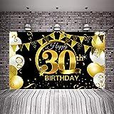 Party Dekoration 30. Geburtstag Party Dekoration Schwarz