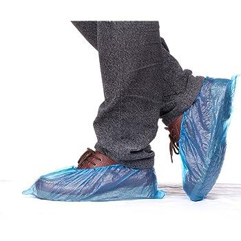 Vos Sols et Vos Chaussures 200 Pi/èCes Couvre-Bottes Non Tiss/éS Durables pour Prot/éGer Votre Maison Gaoominy Couvre-Chaussures Jetables Antid/éRapants